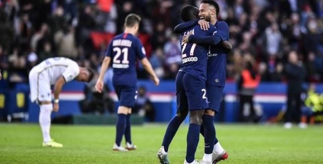 باريس سان جيرمان يتربع على عرش الدوري الفرنسي