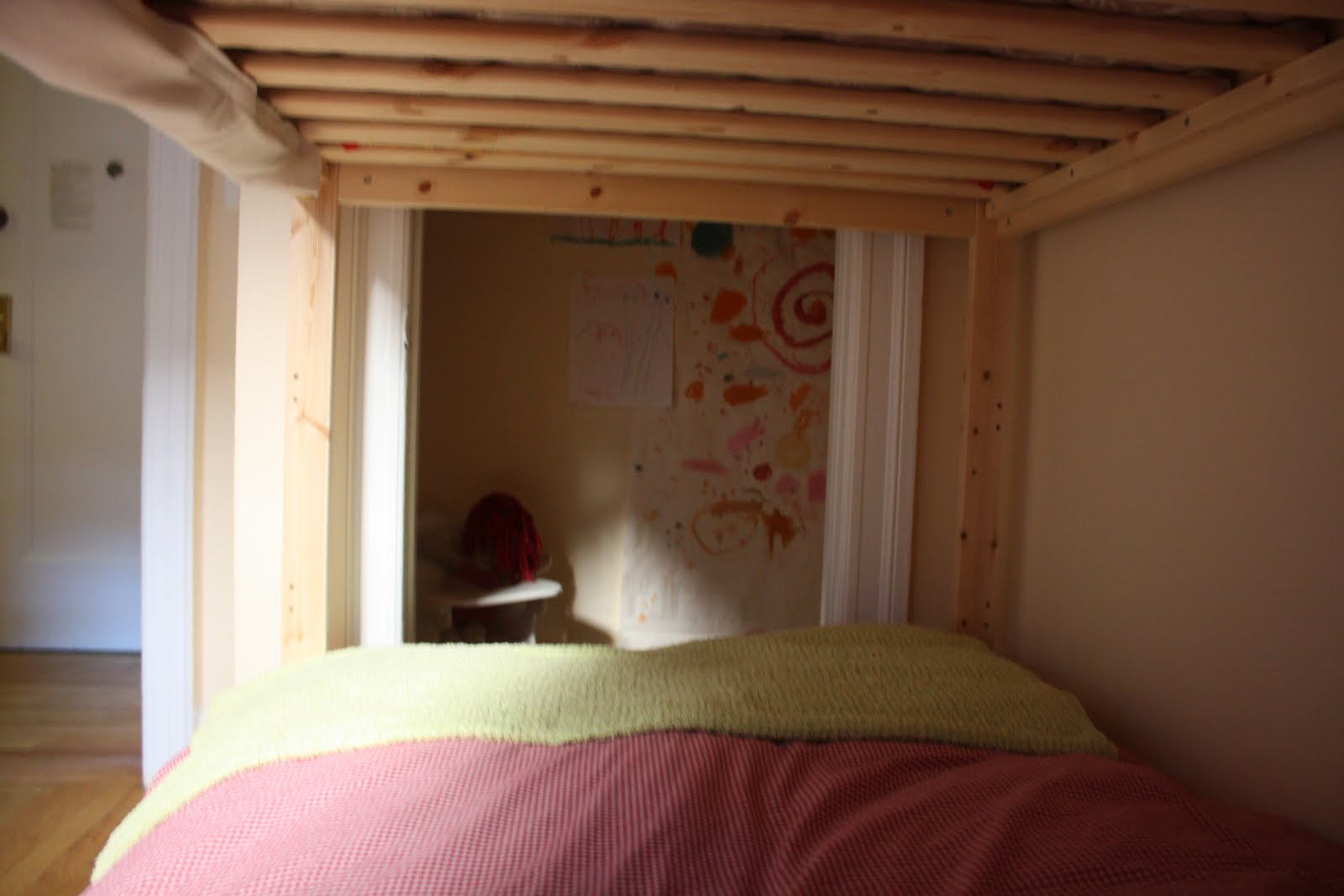Dried Figs And Wooden Spools How To Make The Bottom Bunk