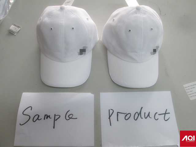 cap product quality inspection in China