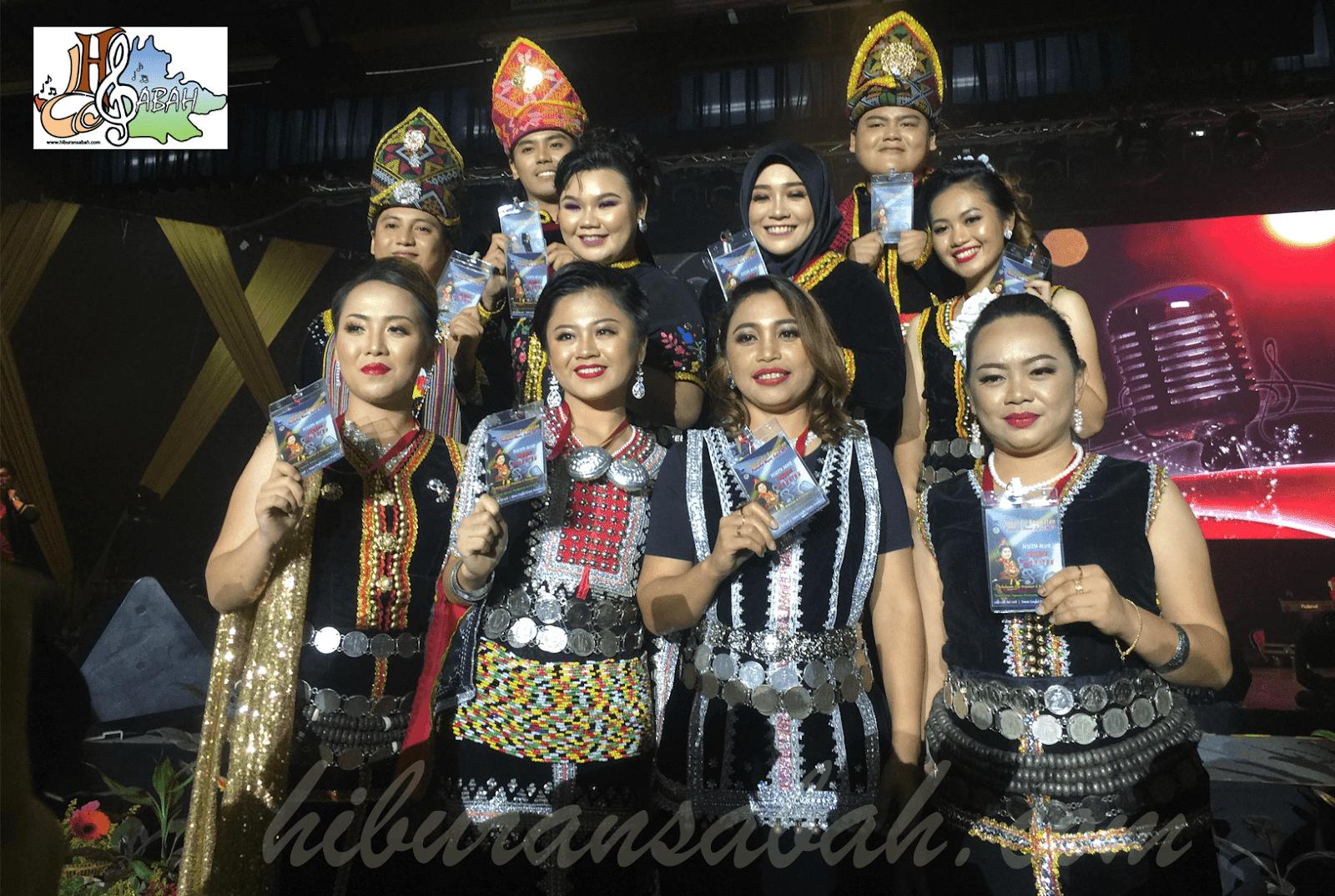 Top 10 peserta akhir Sugandoi Kaamatan peringkat negeri Sabah 2018