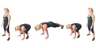 Squat thrusts, olahraga Squat thrusts, gerakan Squat thrusts, olahraga di rumah, exercise, olahraga fisik, health, fitness, work out