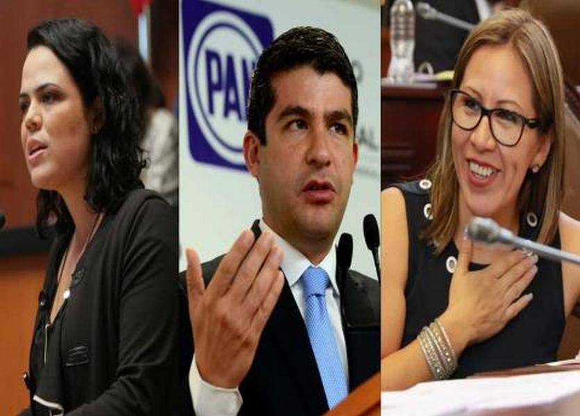 Tabe, Gómez del Campo y Lady Garnacha, entre candidatos del PAN