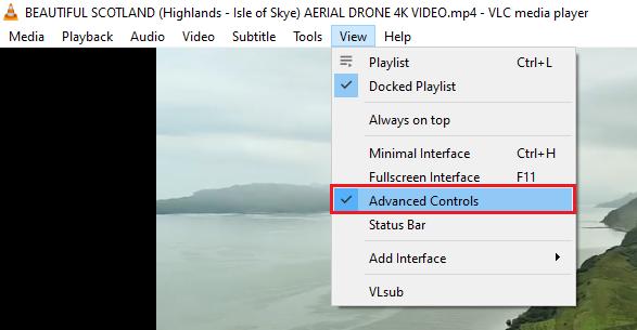 Video Trim using VLC