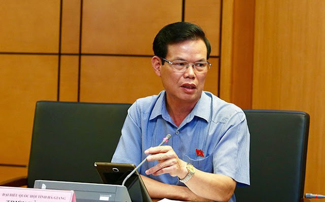 Sau vụ tai tiếng con gái được nâng điểm ông Triệu Tài Vinh được điều lên Phó trưởng ban Kinh tế Trung ương