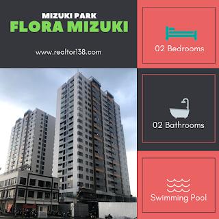 02 phòng ngủ căn hộ flora mizuki khu đô thị mizuki park bình chánh