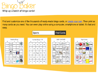 A Great Tool for Creating Bingo Cards in Class
