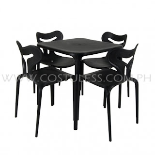 Restaurant Furniture Sale Plastic Table And Chair Sets