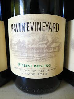 Ravine Vineyard Reserve Riesling 2015 (90+ pts)