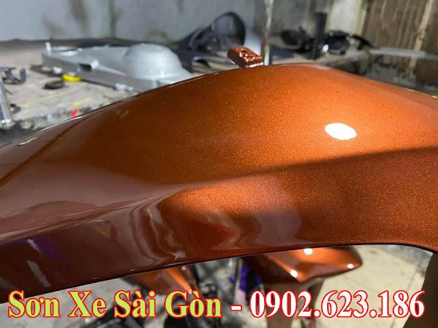 Mẫu Xe Honda Dylan sơn màu nâu pha lê cực đẹp