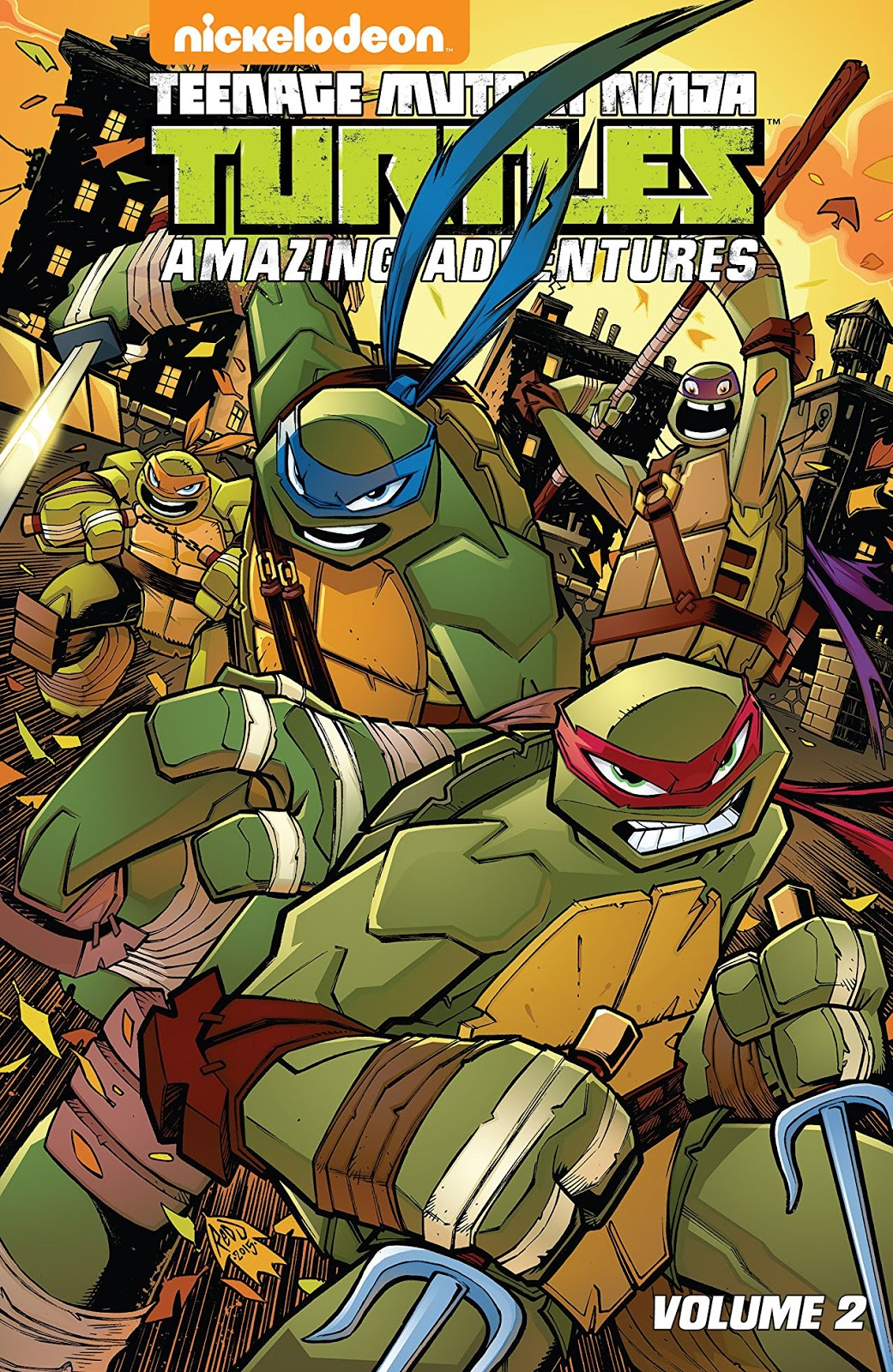 Teenage Mutant Ninja Turtles - Amazing Adventures (v02-v03 ...