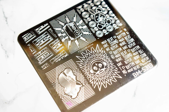 Maniology Bundle Monster S313 Stamping Plate Plus10Kapow