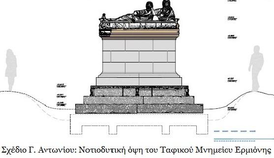 Τίνα Αντωνοπούλου. «Η άφωνη αλλά ομιλούσα θλίψη του Ρωμαϊκού Ταφικού Μνημείου της Ερμιόνης»