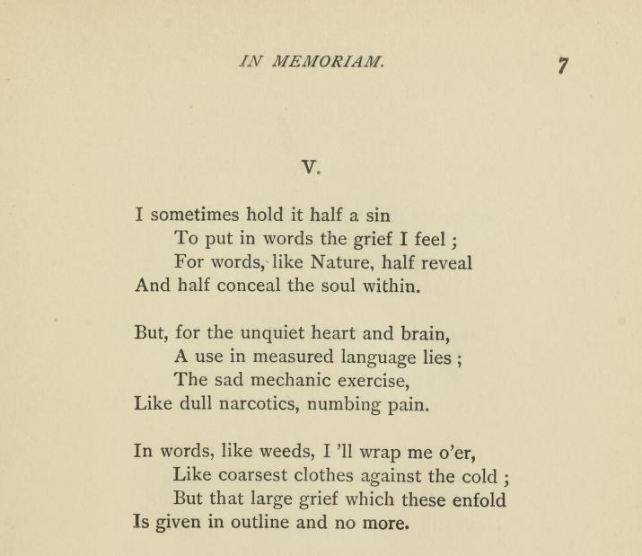 Happy Publication Anniversary of Alfred Lord Tennyson's In ...