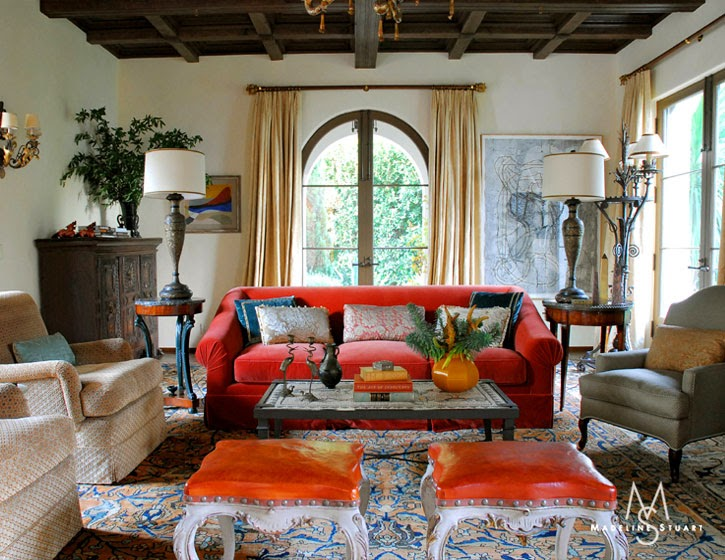 LUSTER INTERIORS: Spanish Colonial... With A Twist