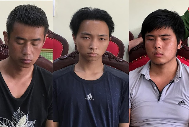 Ba nghi phạm người Trung Quốc giết tài xế taxi để cướp tài sản.