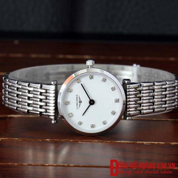 đồng hồ longines nữ dây sắt