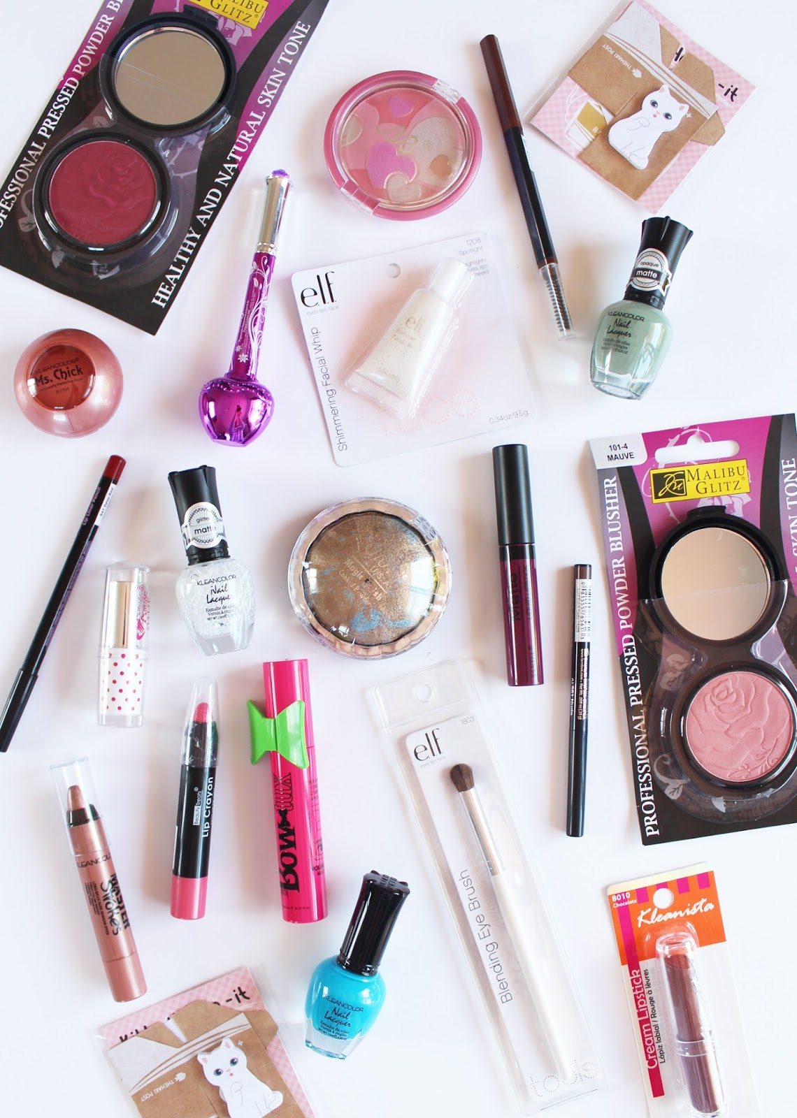 SHOP MISS A   Huge $1 Beauty Haul + Swatches - CassandraMyee