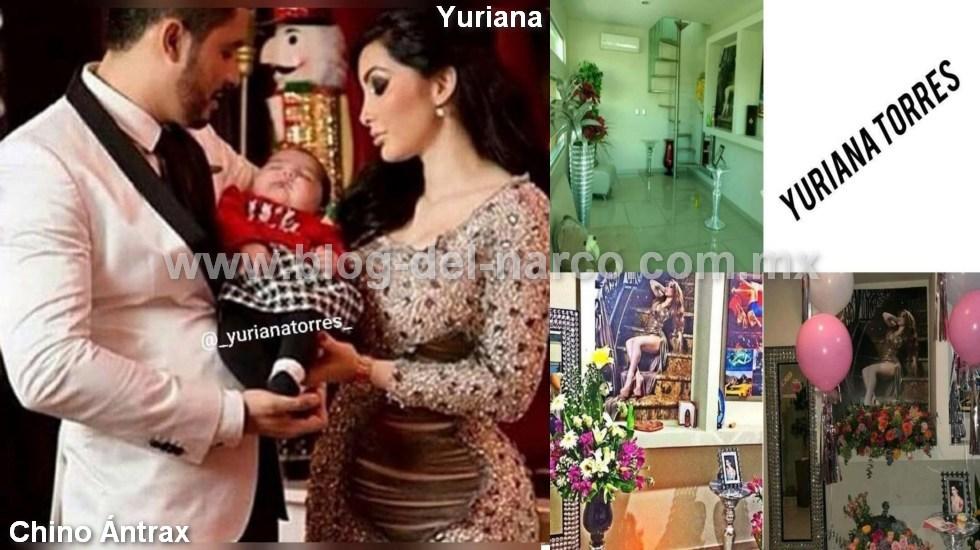 """Yuriana, la modelo levantada y ejecutada por amar a """"El Chino Ántrax"""", producto de su amor tuvieron un hijo ahora huérfano"""