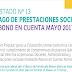LISTADO Nº 13  PAGO DE PRESTACIONES SOCIALES  ABONO EN CUENTA MAYO 2017