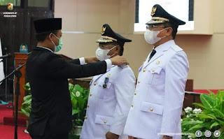 Yohanis Bassang dan Frederik Viktor Palimbong, Bupati Toraja Utara periode 2021-2026