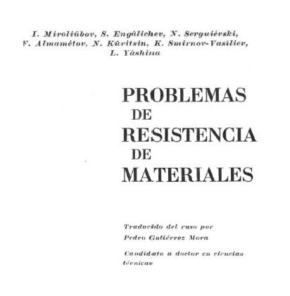 solucionario resistencia de materiales miroliubov