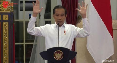Siap Terima Kritik, Gimmick Seorang Jokowi di Hadapan Pimpinan Media Massa