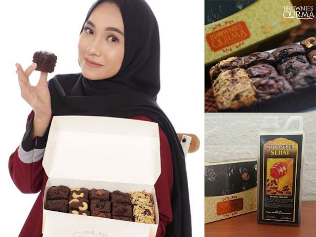Berbuka dengan yang Manis dan Sehat: Brownies Kurma Turki dan Madu Asli Kalimantan