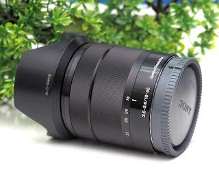Jual Lensa Kit Sony 18-55mm OSS ( E-Mount ) Bekas
