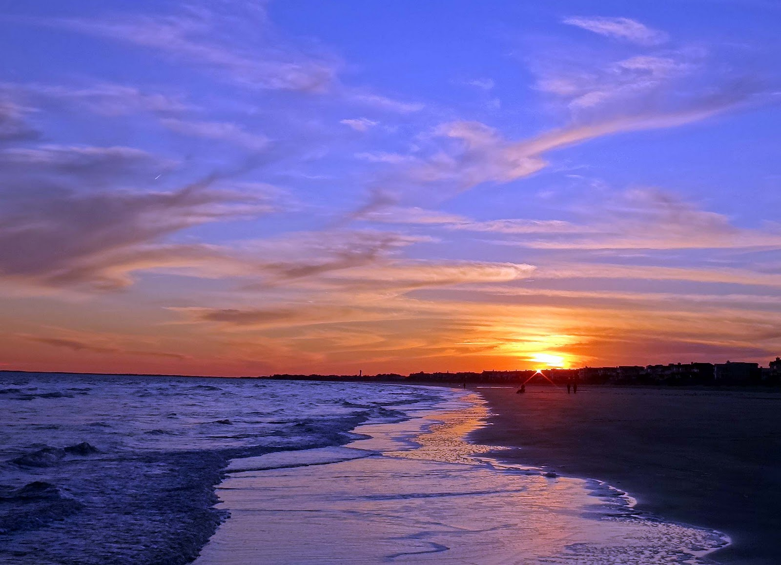 Joes Retirement Blog Beach at Sunset Isle of Palms