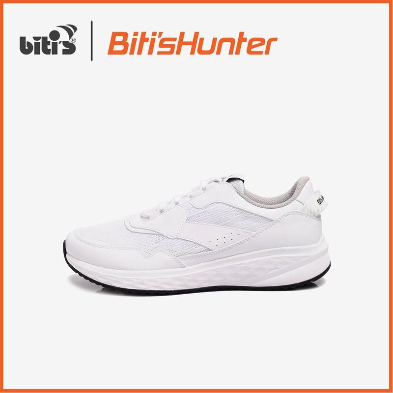 Giày Thể Thao Nam - Nữ Bitis Hunter Core White Snow DSMH01201TRG- Festive Collection 2k19 - DSMH01201TRG