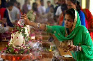 The holy month of Sawan started from today