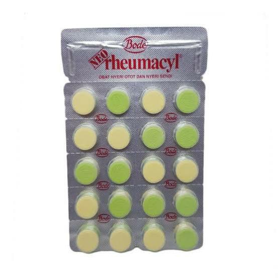 Fungsi dan Kandungan Pada Neo Rheumacyl Tablet