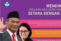 BKN Pastikan Tak Ada Rekrutmen P3K/PPPK, Harapan Guru Honorer Punya Gaji Setara UMR Pupus