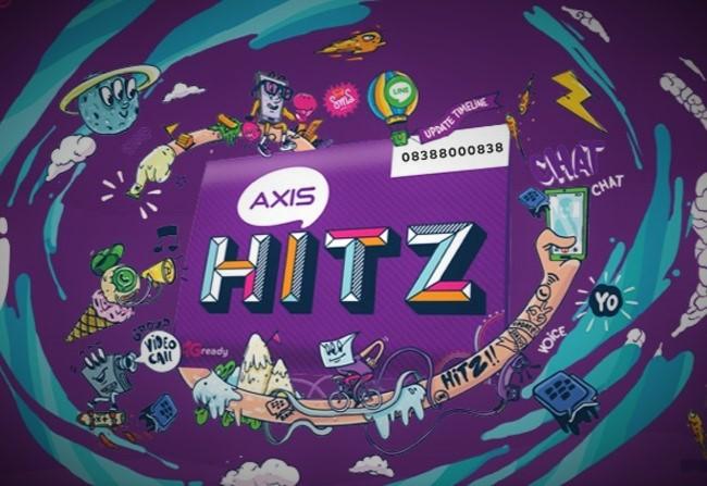Internet Gratis Menggunakan Axis Hitz