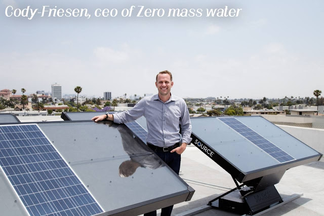 Zero Mass Water discovers how to make water from the air
