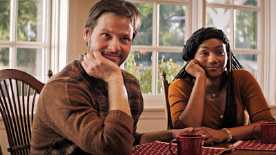 The Oath movie still Ike Barinholtz Tiffany Haddish