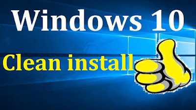 HOW TO CLEAN INSTALL WINDOWS 10 USING DVD
