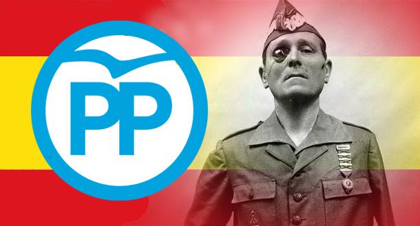 """El PP elogia al franquista Millán Astray como """"héroe"""""""