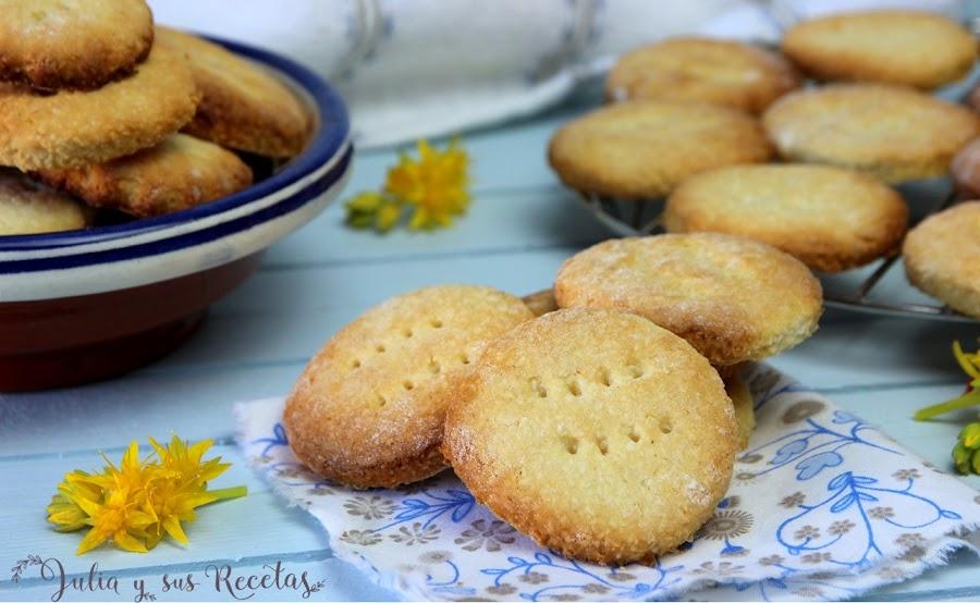 Galletas de coco. Julia y sus recetas
