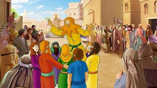 Jonas prega em Nínive