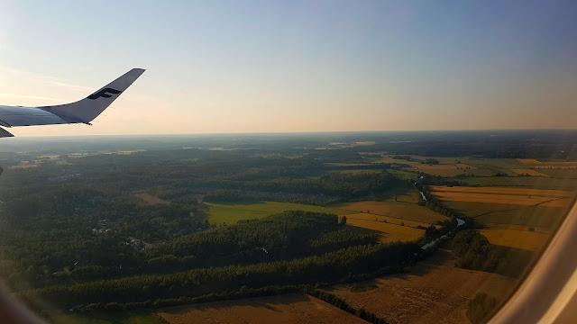 Finlandia z lotu ptaka