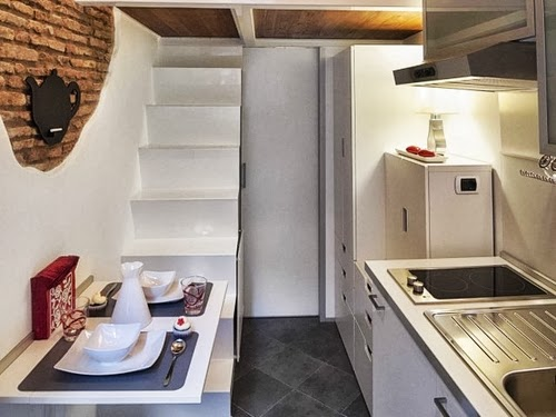 06-Dining-and-Kitchen-Toilet-Smallest-House-in-Italy-75-sq-Feet-7-m2-Italian-Architect-Marco-Pierazzi-www-designstack-co