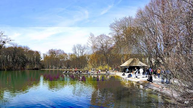 Englischer Garten -Kleinhesseloher See