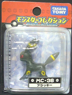 Umbreon Pokemon figure Takara Tomy Monster Collection MC series