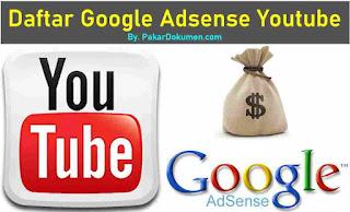 Daftar Google Adsense Youtube