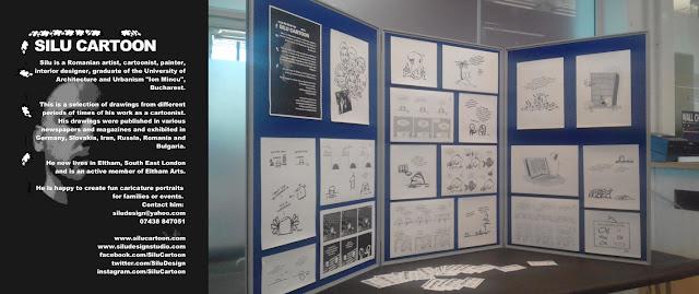 Silu Cartoon Mini Cartoon Exhibition, Eltham Library