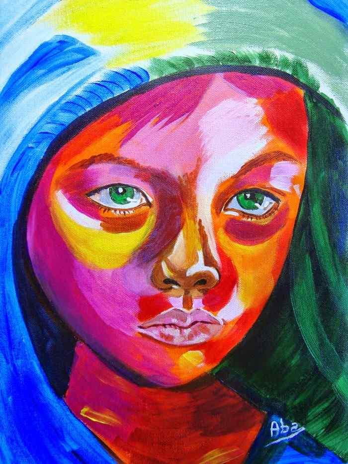 Испанский художник. Maria Azucena Abanses Celaya