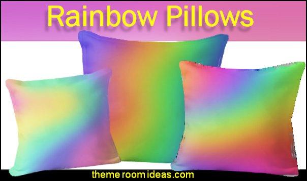 rainbow bedding rainbow throw pillows rainbow pillows rainbow home deor rainbows