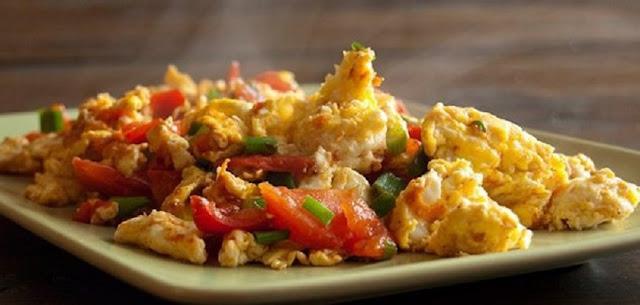 Resep Praktis Tumis Sayur Orak-arik Telur Cuma 5 menit