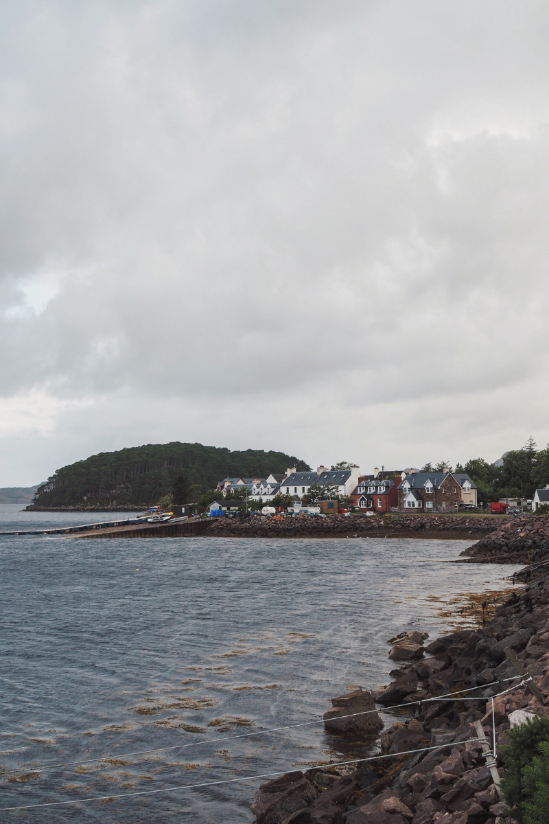 Le village de Shieldaig dans les Highlands en Ecosse